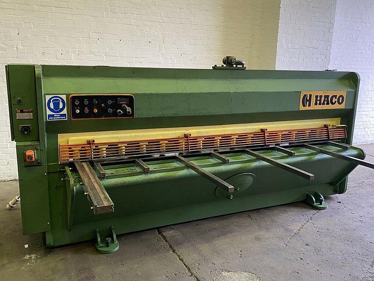 HACO TSL 306 3m Hydraulic Sheet Metal Guillotine