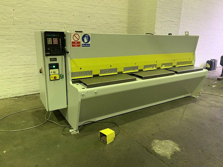 Edwards Pearson VE Shear Hydraulic Sheet Metal Guillotine