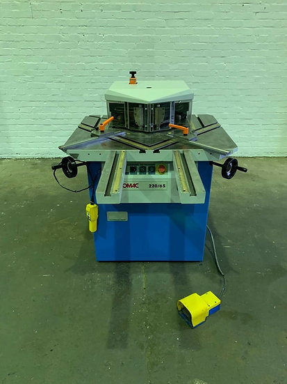 EUROMAC Variable Angle 6mm Hydraulic Corner Notcher