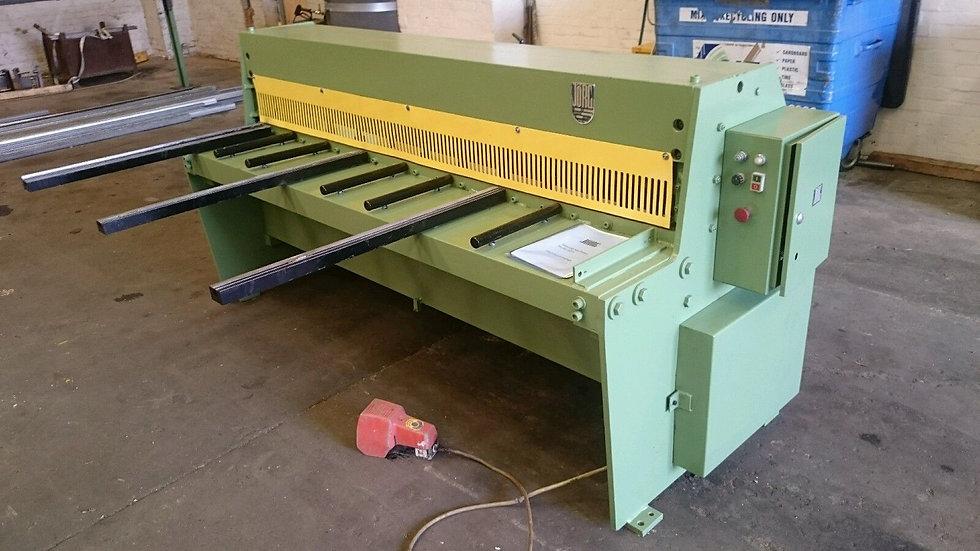 Jorg Model 4054  MechanicalSheet Metal Guillotine 2m x 4mm