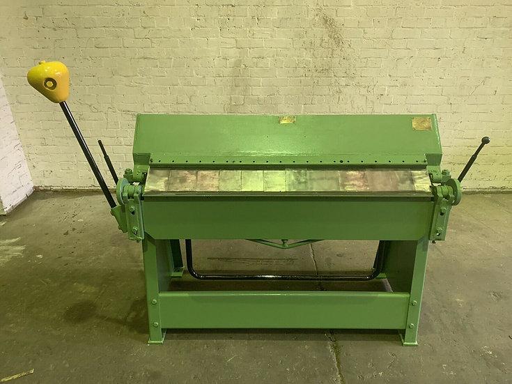 Edwards 4ft Box & Pan Folder 1220mm x 1.2mm