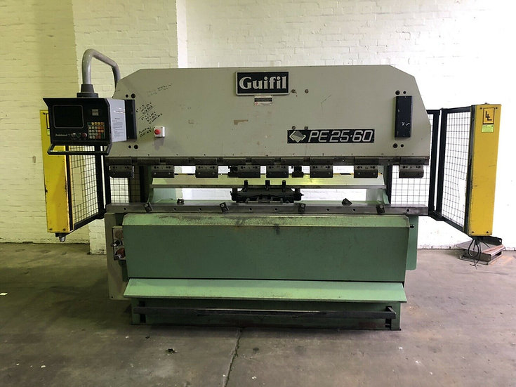 Guifil PE25:60 2.5m Hydraulic Pressbrake