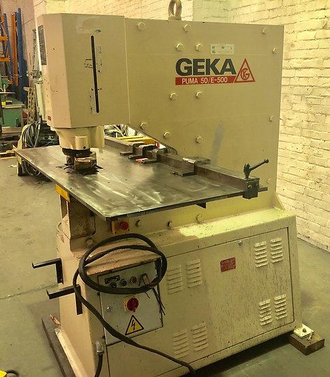 GEKA Puma 50E-500 Hydraulic Punch