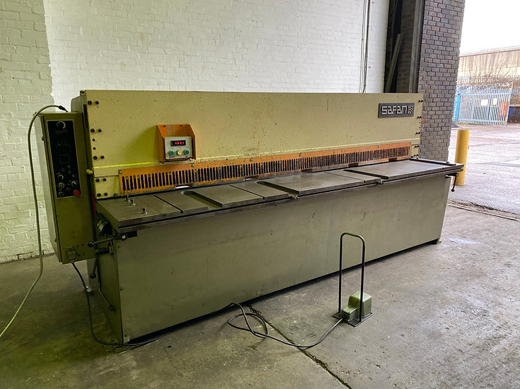 Safan (Holland) VS 310-6 Sheet Metal Guillotine