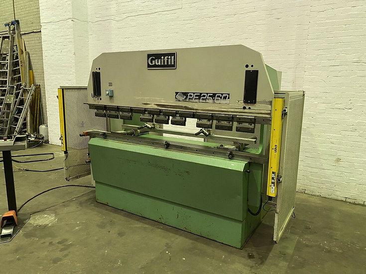 GUIFIL PE2560 Hydraulic Pressbrake