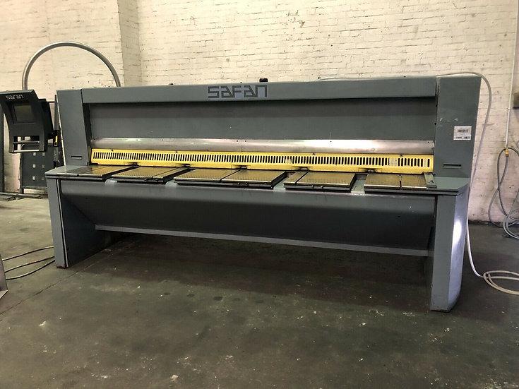 SAFAN HT 310-6 TS CNC Hydraulic Sheet Metal Guillotine