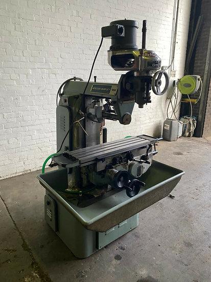 Adcock & Shipley 1ESJ Vertical & Horizontal Milling Machine