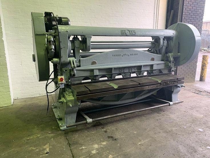Rhodes Mechanical 8mm Sheet Metal Guillotine
