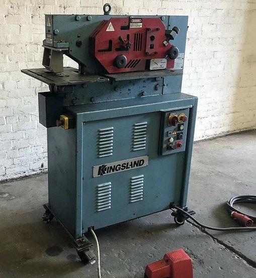 Kingsland 40xm Hydraulic Universal Ironworker 40 Ton