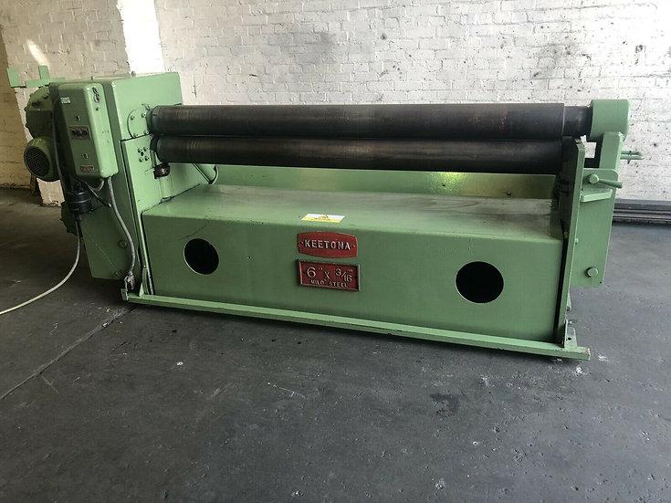 Keetona Powered Sheet Metal Bending Slip Rolls