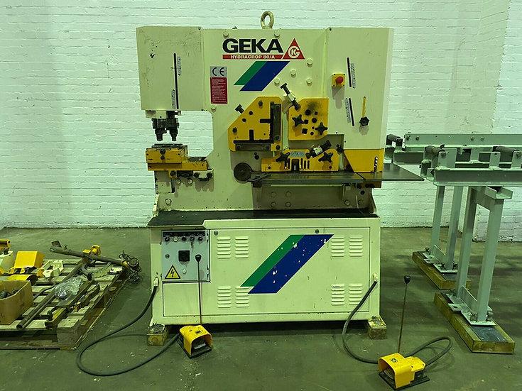 Geka Hydracrop 80A Hydraulic Universal Ironworker