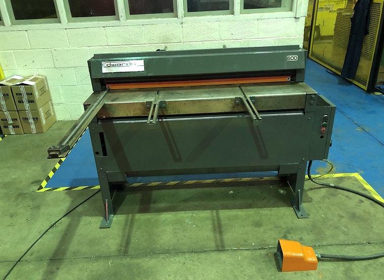 Edwards Minishear Mechanical Guillotine 1270mm x 1.6mm