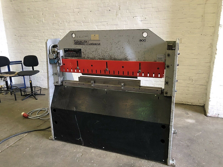 Edwards Truebend Mechanical DD Pressbrake