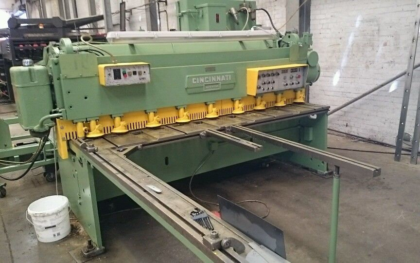 Cincinnati Auto Shear  Mechanical Sheet Metal Guillotine 2.5m x 3.5mm