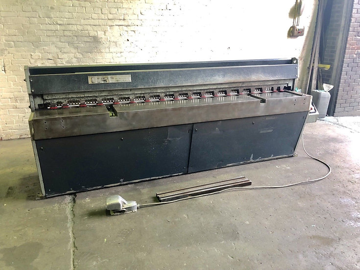 Edwards Truecut DD Mechanical Guillotine 2.5m x 3.25mm
