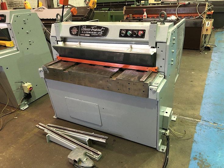 Edwards Besco Mechanical Sheet Metal Guillotine