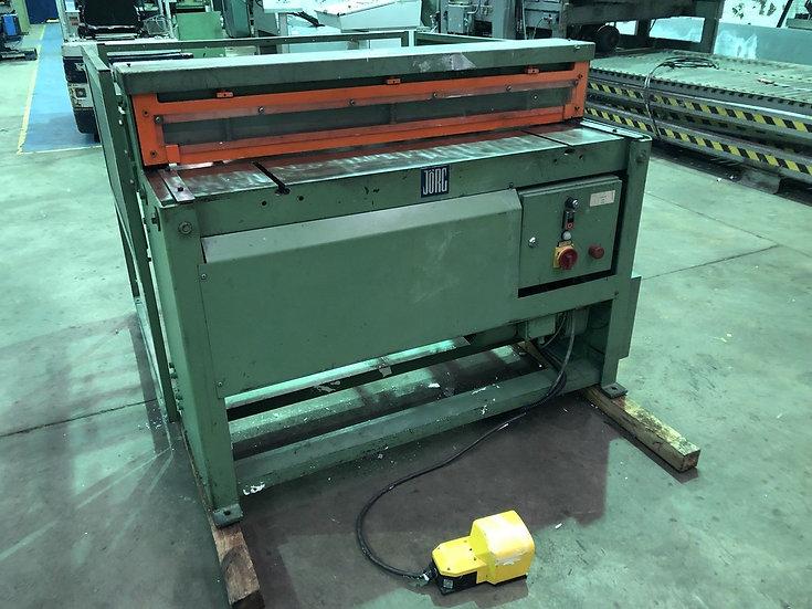 JORG (Sweden) Mechanical Sheet Metal Guillotine