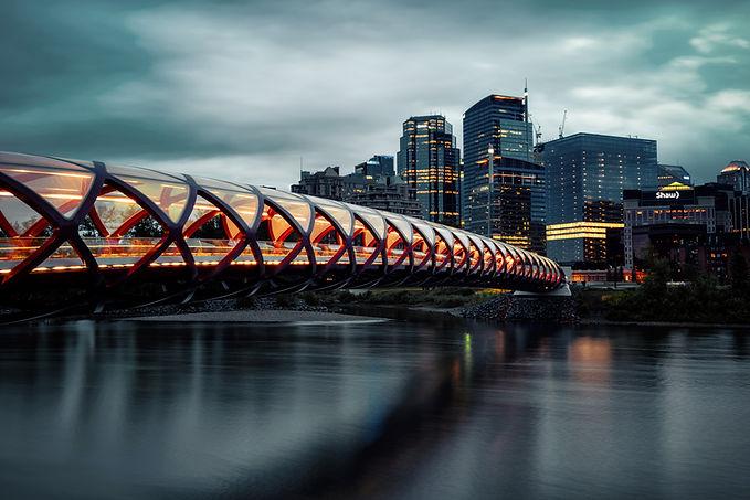 Peace Bridge Calgary Alberta Canada
