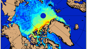 CryoRoute - Globally Optimized Naval Routes in North Arctic Ocean