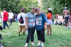 Nancy and Neva Garcia  at Richmond