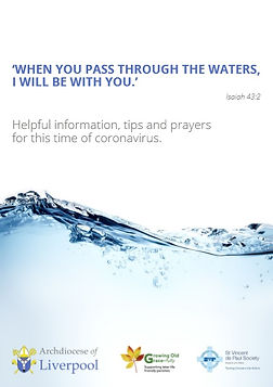 When you pass through the waters, I will