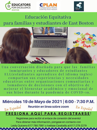 East Boston Family Engagement - Spanish.