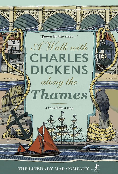A Walk with Charles Dickens along the Thames