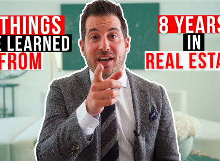 8 Things I've Learned in 8 Years of Real Estate