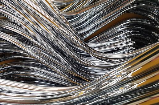 Cromatura su acciaio inox