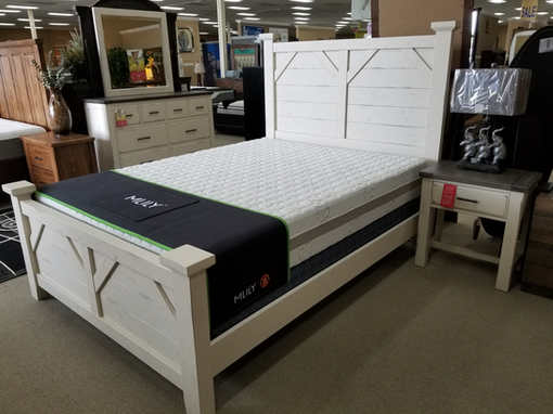 Vaughan Basset  all wood furniture Plank Poster bed $799