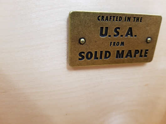 Furniture made in the U.S. from real wood