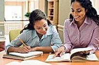 black mom homeschooling teen girl.jpeg
