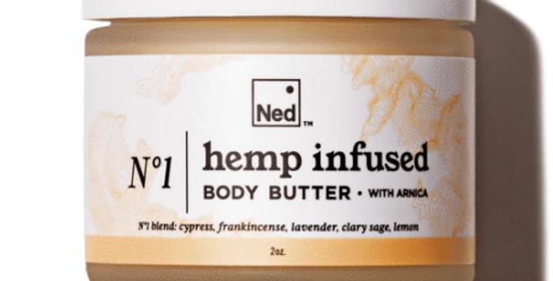 N°1 Body Butter with Full Spectrum Hemp Oil