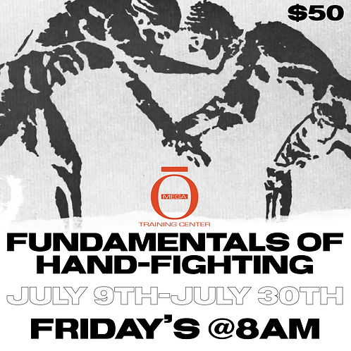 Fundamentals of hand fighting