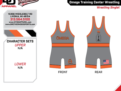 Omega Competition Singlet