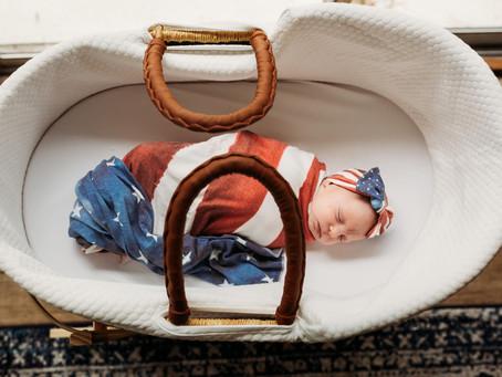 At Home Newborn Photography | Military Family | 30a Destin, Florida