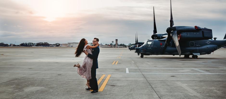 My Life as A Military Spouse: Destin, Florida couples and family photographer