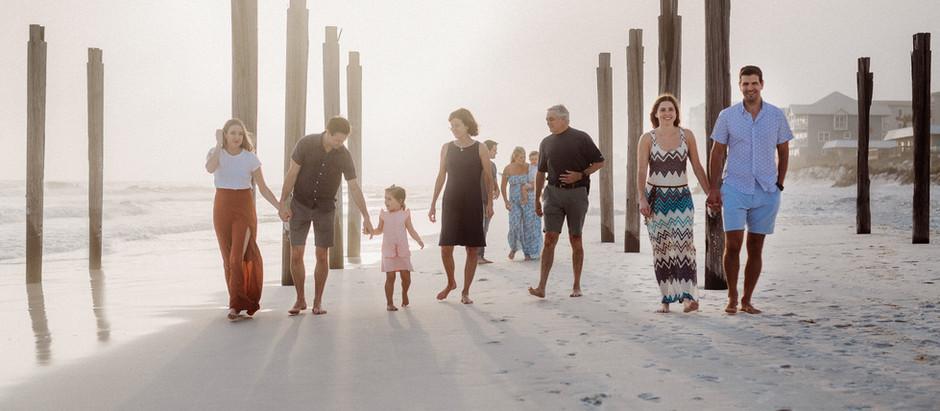 Durham Extended Family Beach Photos   Destin, Florida Photographer