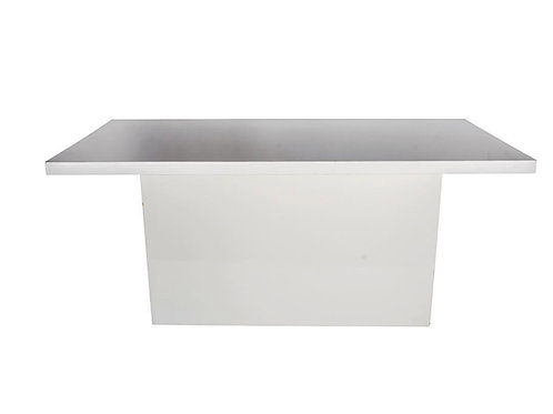 WHITE ACRYLIC TABLE