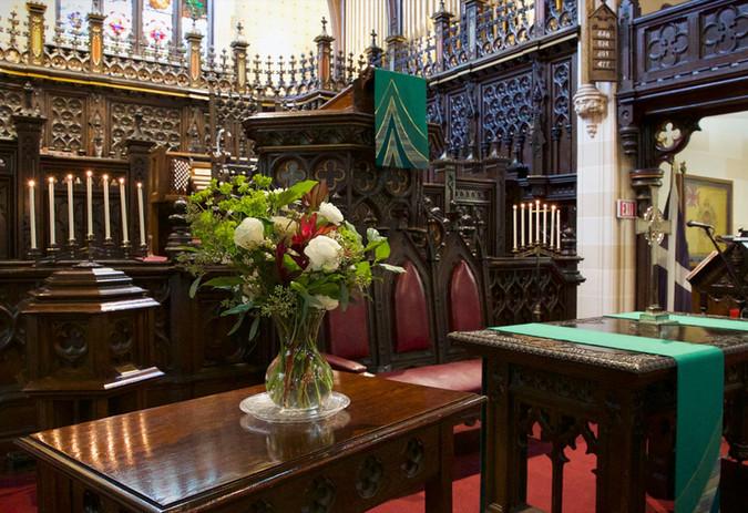 close up altar