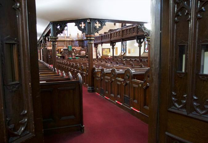 Sanctuary south door