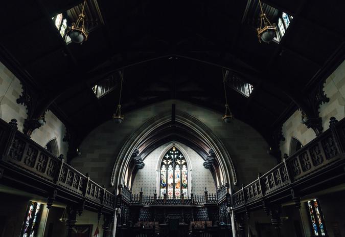 sanctuary low lighting