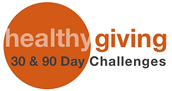 healthy giving 30 & 90 Day Chalenges logo