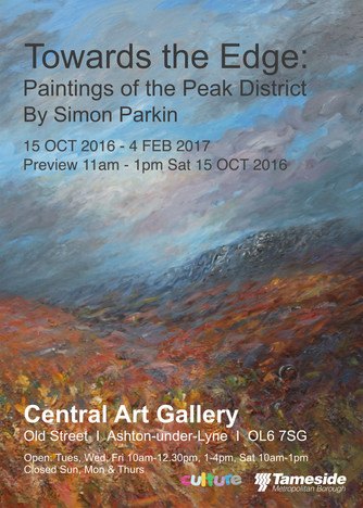 Towards The Edge : Paintings of the    Peak District at Ashton Central Gallery