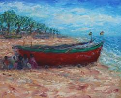 Goa boats
