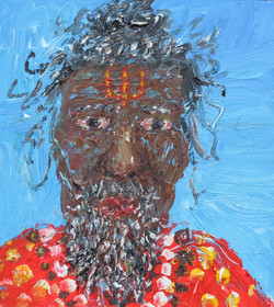 Shiva Sadhu wuth beads