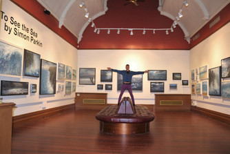 """""""To See The Sea"""" Exhibition at the Central Gallery, Ashton, now runs until 2nd Feb 2019."""