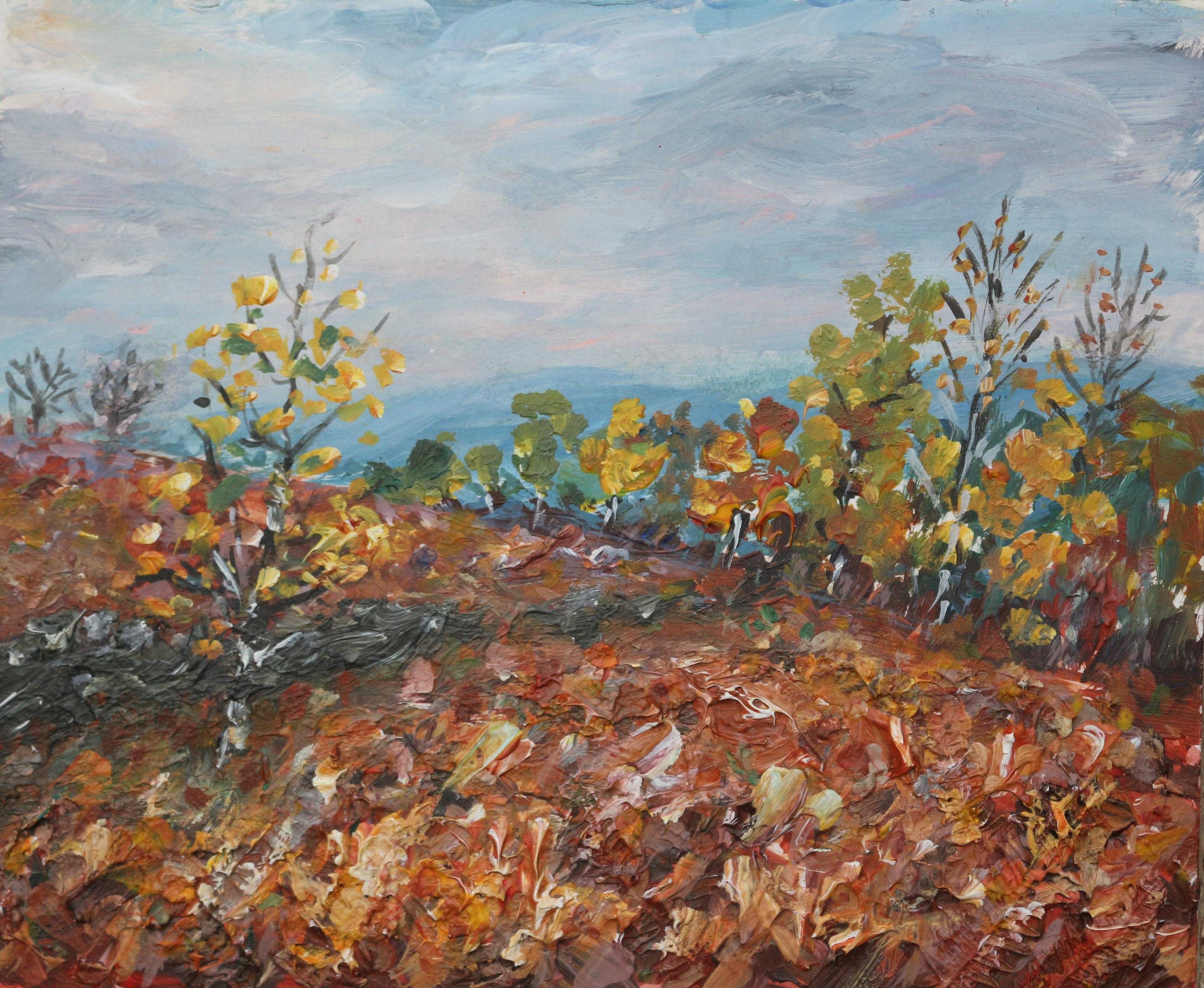 Birches, Bracken and Blue Hills