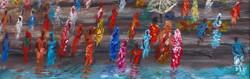 Ghats at VaranasiMixed media 60x60cm - bottom.jpg