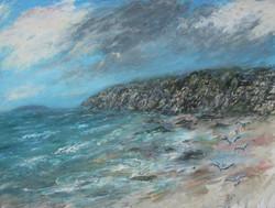 Sandy bay 80x100 cm